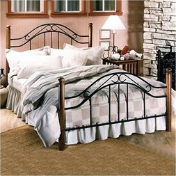 Hillsdale Furniture 164BFR Winsloh Bed Set with Rails, Full,