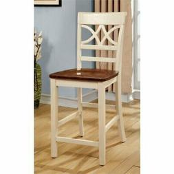 """Bowery Hill 24.13"""" Counter Stool in White"""