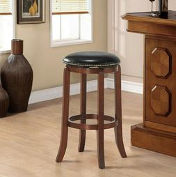 """29"""" Swivel Bar stools Leather Padded Solid Counter Height Pu"""