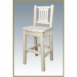 Montana Woodworks 30 in. Homestead Barstool, Natural