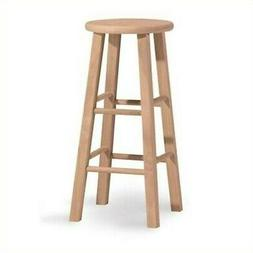 "International Concepts 30"" Round Top Bar Stool"