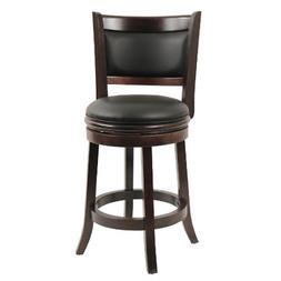 Boraam 48824 Augusta Counter Height Swivel Stool, 24-Inch, C