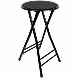 Trademark Home Folding Stool – Heavy Duty 24-Inch Collapsi