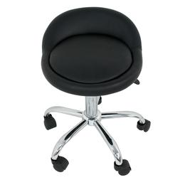 Adjustable Height Hydraulic Rolling Swivel Stool Spa Salon C