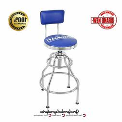 Kobalt Adjustable Hydraulic Stool Mechanic Seat Chair Work S