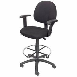 B1616-BK Home Office Desk Chairs Ergonomic Works Drafting Wi
