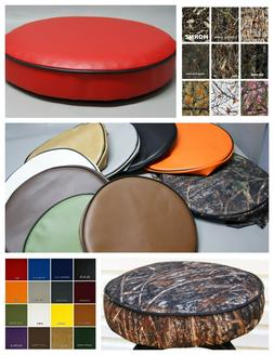 Bar Stool Cover vinyl or camo pub / kitchen / snack in 25 co