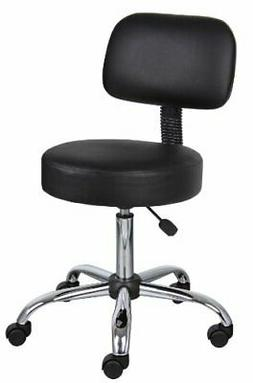 Boss Office Products Be Well Medical Spa Stool with Back in