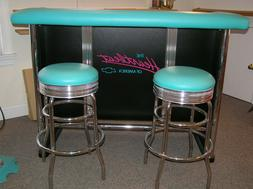 Chevy Heartbeat Of America Nostalgic Bar Set with Stools