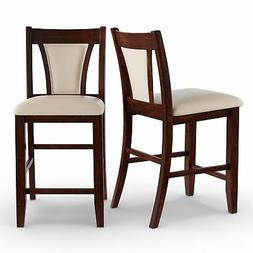 Furniture of America Dionne Cherry Counter Height Stool (Set