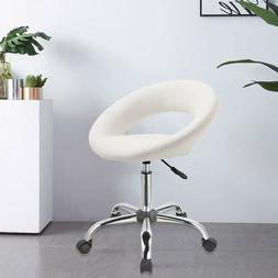 Duhome Home office Desk Chair Work Stool Crescent Adjustable