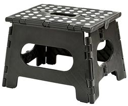 Folding Step Stool - Enough to Support Adults and Safe Enoug