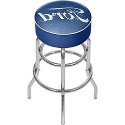 Trademark Gameroom Ford padded Swivel bar Stool - Ford Genui