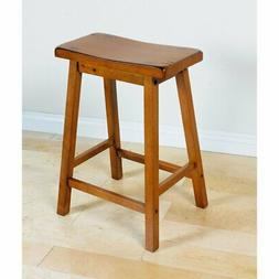 Acme Furniture Gaucho Counter Height Stool - Set of 2, Oak