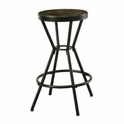 Furniture of America Hourglass Industrial 24 in. Bar Stool