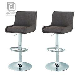 Hydraulic Stools Cushioned Adjustable Height Swivel Counter