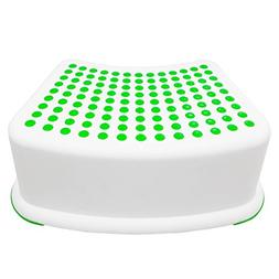 Kids Green Step Stool Great For Potty Training Bathroom Bedr