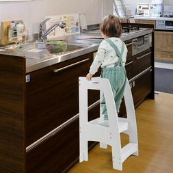 Kids Step Stools Kitchen Standing Tower w/Handles,Mothers'He
