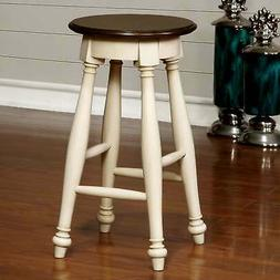 Furniture of America Kis Country Solid Wood Counter Stools W