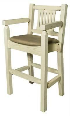 Eco-friendly Captain Counter Stool in Lacquer Finish