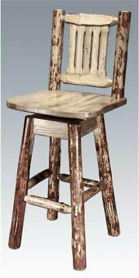 Eco-friendly Swivel Counter Stool with Back