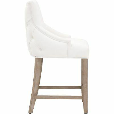Benjara Fabric Counter Stool with Sloped and Seat,