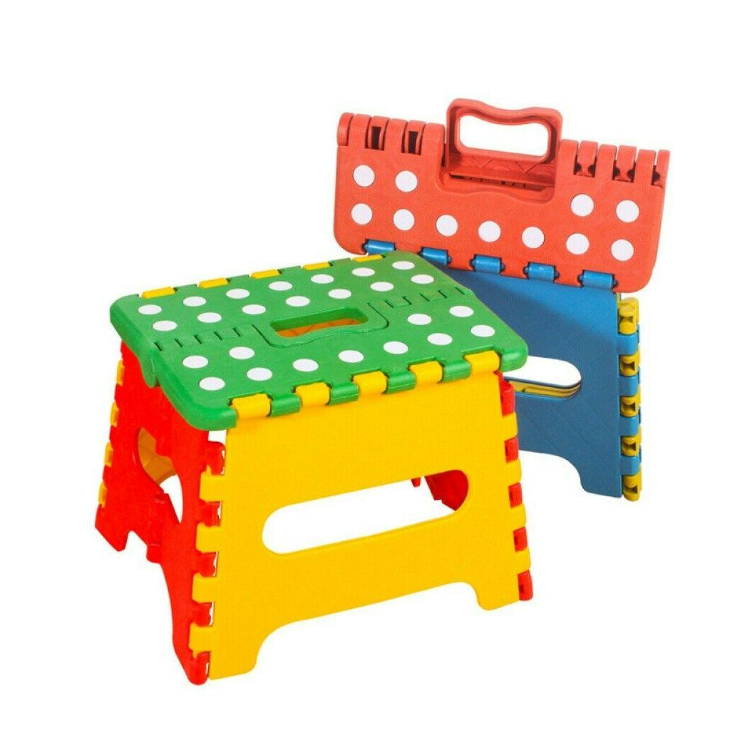 Folding Step Stool for Kids 300 lbs Capacity Outdoor Home