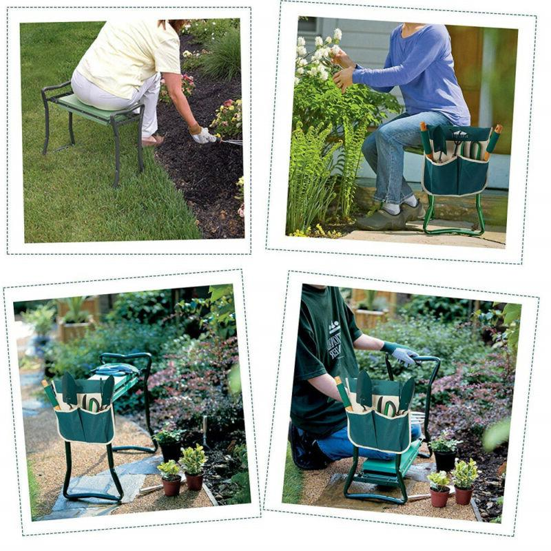 Garden Seat Soft Pad Portable Tool Pouch