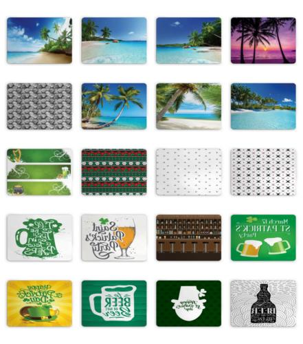 Ambesonne Non Slip Mouse Pad Size Rectangle Design