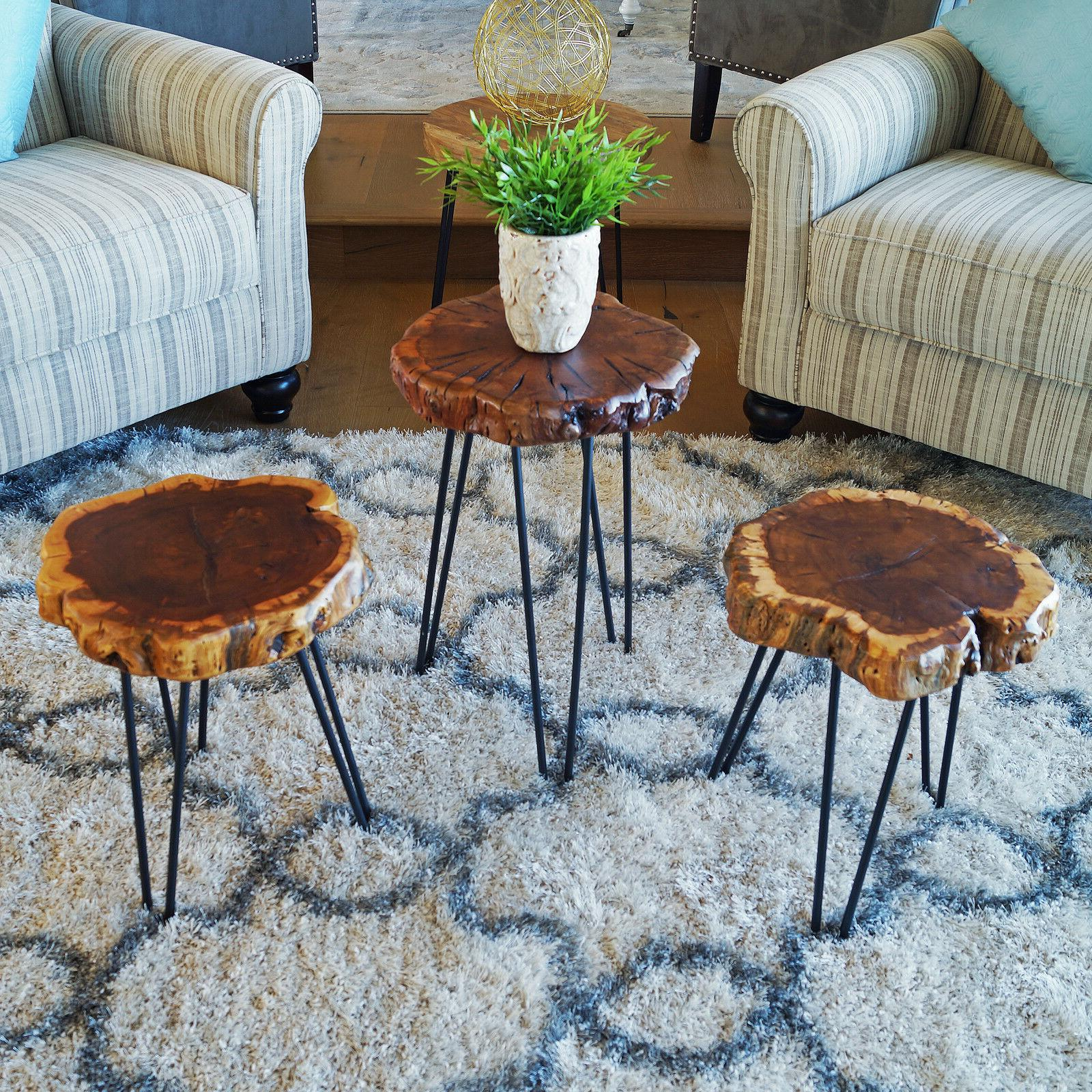 Rare Table Inches Tree Stool Chair WELLAND