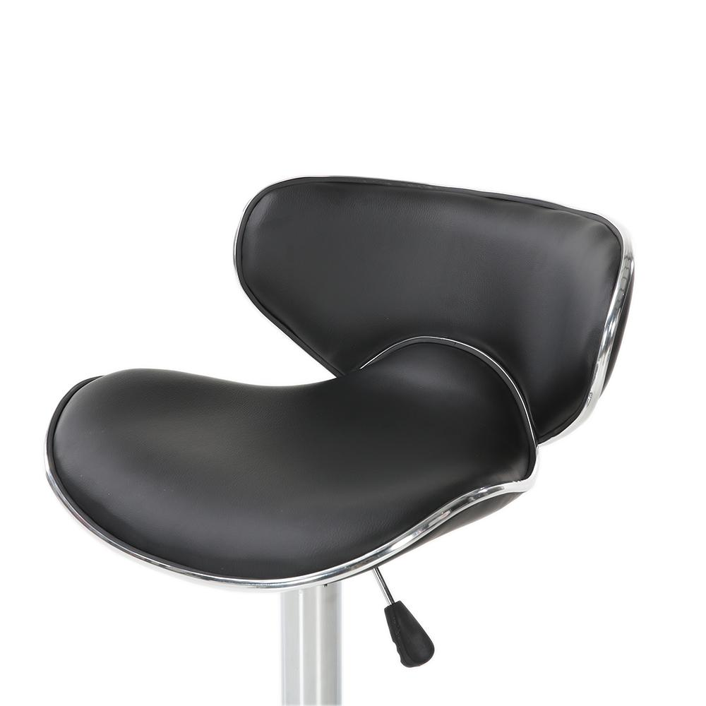 Set Of Bar Stools Chair PU Leather Counter