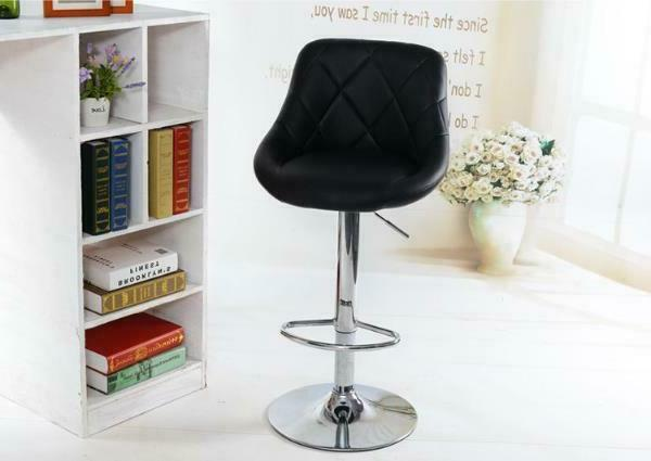 Adjustable Counter Height PU Leather Bar Stools Pub