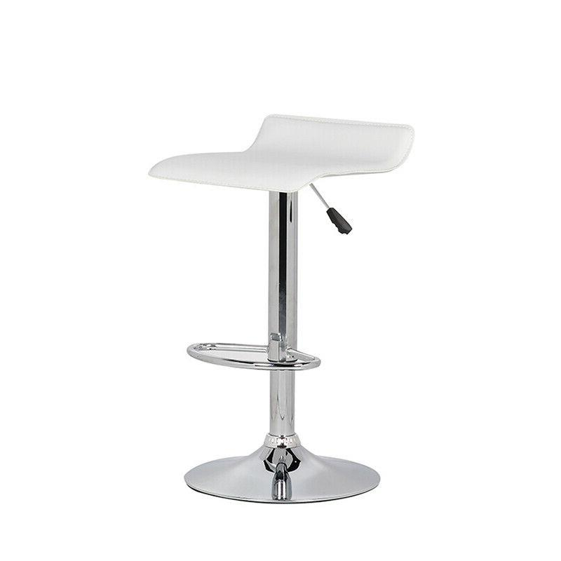 Set of Stool Leather Counter Chair
