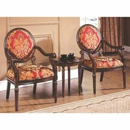 Best Master Furniture Maddison 3 Piece Traditional Living Ro