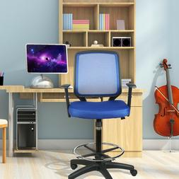 Mid Back Home Office Drafting Bar Chair Counter High Stools