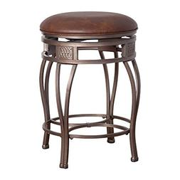 OpenBox Hillsdale Montello 30-Inch Backless Swivel Bar Stool