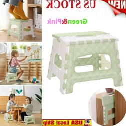 Plastic Multi Purpose Folding Step Stool Home Kitchen Easy S