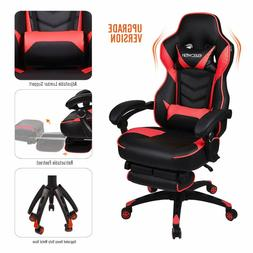 Video Gaming Chair Racing Style Leather Office Recliner Comp
