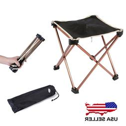 Stool Chair Seat Triangular Portable Folding Camping Outdoor