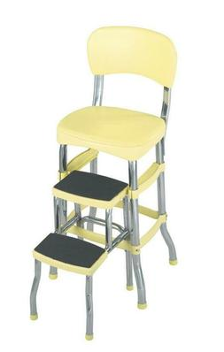 COSCO Stylaire Retro Chair + Step Stool with sliding steps,