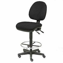 Task Stool - 360° Footrest Without Arms - Black
