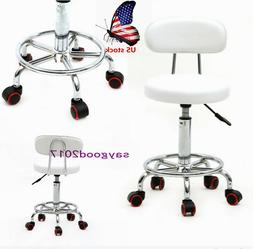 US Adjustable Rotating Round Home Office Stool Chair Bar Cha
