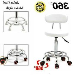 US Rolling Adjustable Swivel Round Stool Home office Bar Cha
